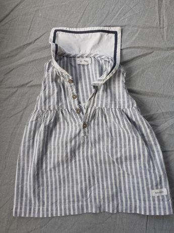 Sukienka Newbie 74 marynarska