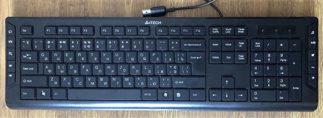 Клавіатура дротова A4Tech KD-600 USB