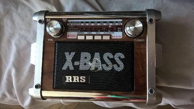 Sprzedam uszkodzone retro radio RS-615U RRS X-BASS