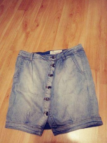 spódnica jeansowa damska RESERVED