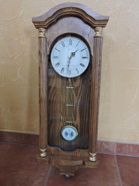 Zegar ścienny drewniany Adler