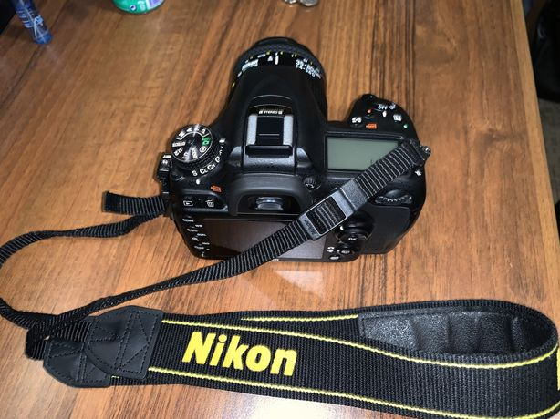 Sprzedam Nikon D7100 z obiektywem AF Nikkor 35-80 mm i 70-300 mm