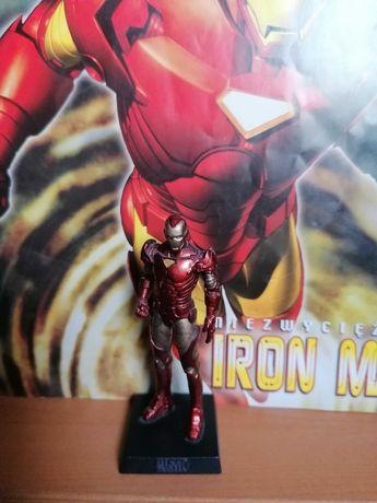 IRON MAN, figurka kolekcjonerska Marvel, ołowiana, ręcznie malowana