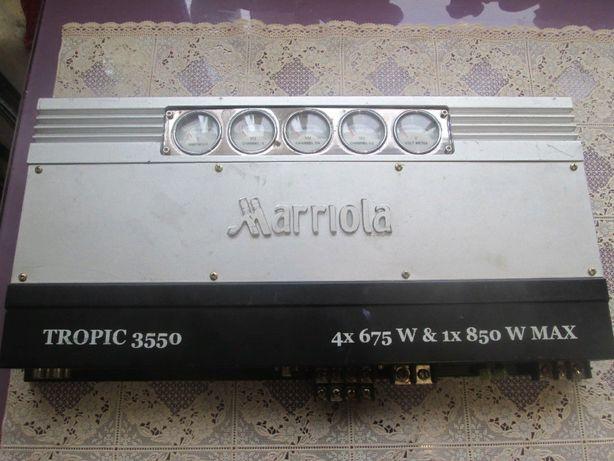 Усилитель для авто MARIOLA 5 каналов очень мощный
