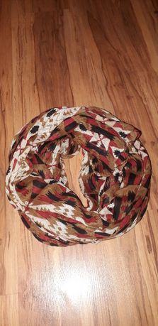 Chusta szalik azteckie wzory boho