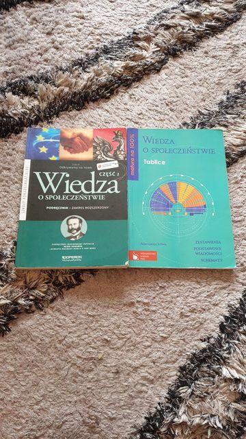 Wiedza o społeczeństwie podręcznik, tablice
