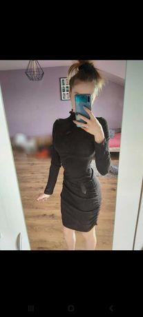 Ściągana sukienka SHEIN