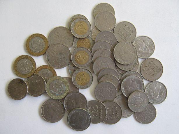 Mais de 700 moedas Portuguesas de escudo antigas
