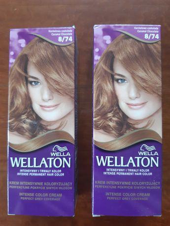 Farbado włosów Wellaton 8.74 Karmelowa Czekolada