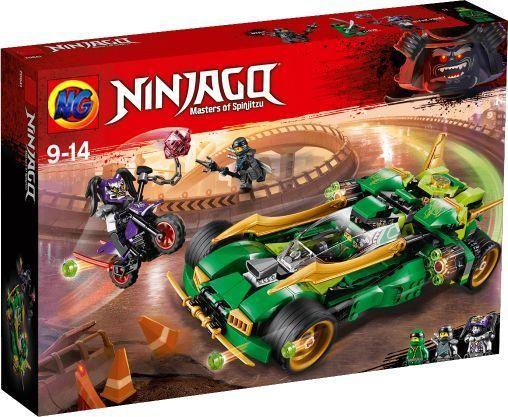 Конструктор sy1002 Внедорожник ниндзяго Lego Ninjago 70641 лего Lego