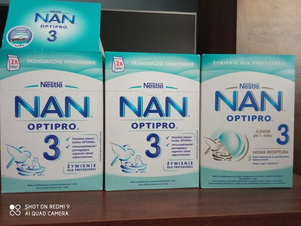 Mleko Nan Optipro 3