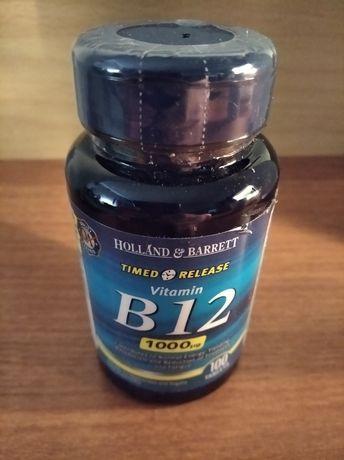 Witamina B12, wegańskie składniki 100T 1000ug