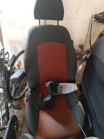 Fotel kierowcy+pasażera fiat ducato 06-11