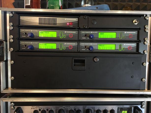 Zestaw 4xSennheiser EW300(G2) + combiner