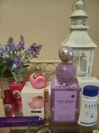 Nina Ricci, Marc Jacobs парфюмерия