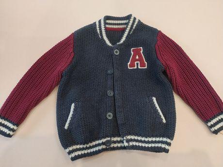Sweter bluza dla chłopca r. 92-98