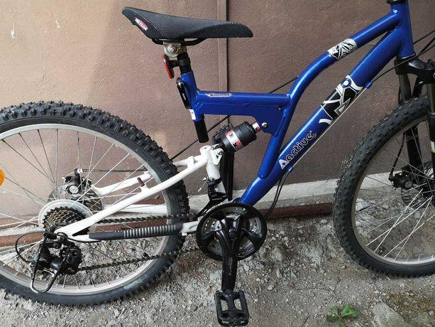 """Nowy rower dziecięcy, młodzieżowy Active Shaman rama 16"""" koła 24"""""""