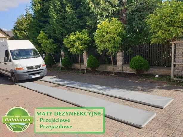 Maty przejazdowe/przejściowe-MATA DEZYNFEKCYJNA 4x0,8 m i inne-Wysyłka