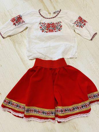 Украинский костюм вышиванка юбка национальная украинская