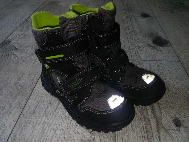 Зимние ботинки Superfit для мальчика 28 размер. Ботинки Суперфит 18 см