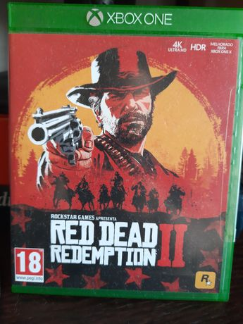 Vendo Red dead Redemption 2  xbox one X/ Series X 4K HDR
