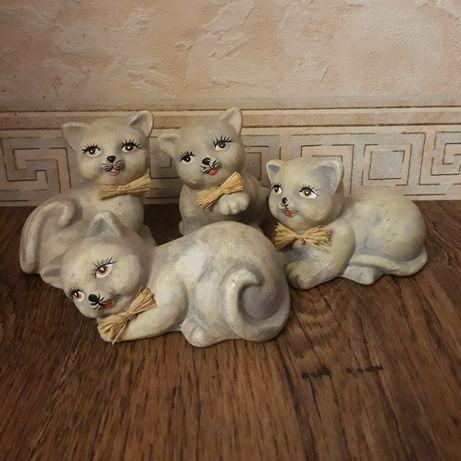"""Статуэтки """"Котята"""", керамика."""