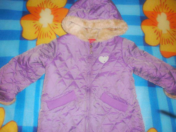 Куртка на девочку 3 года -зима -100 гр