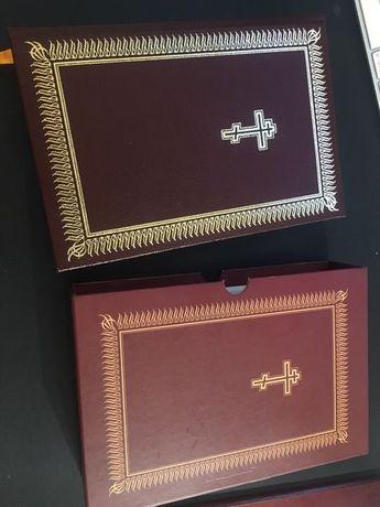 Коллекционная библия подарочная библия. Тираж 500 экз.