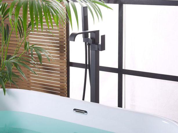 Torneira de banho autónoma preta NIAGARA - Beliani