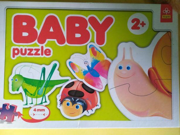 Zestaw puzzli dla dzieci w wieku od 2 lat