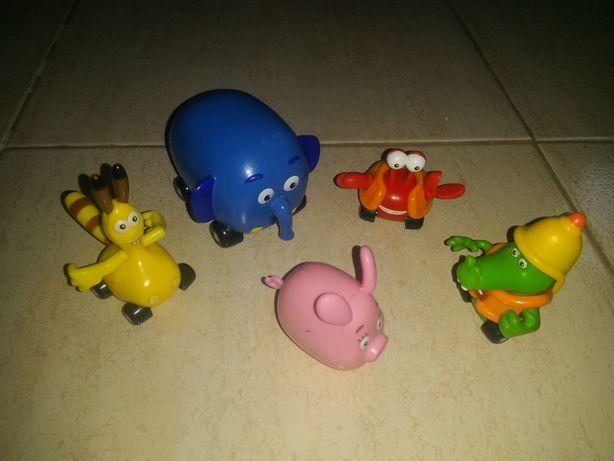 """Figuras/bonecos de """"Selva sobre rodas"""" para brincar ou colecionar"""