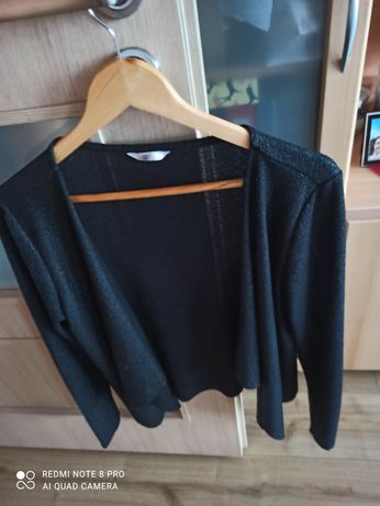 Czarne wdzianko, narzutka, sweter