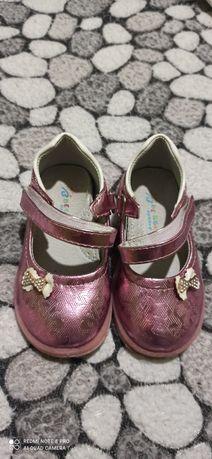 Туфельки на девочку,24-й размер,14 см.,по стельке.