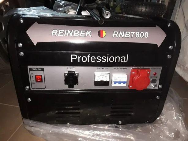 Agregat prądotwórczy Reinbek 7800 3,8 kW