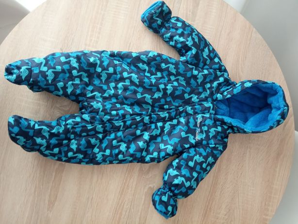 Kompinezon niebieski Lupilu 68