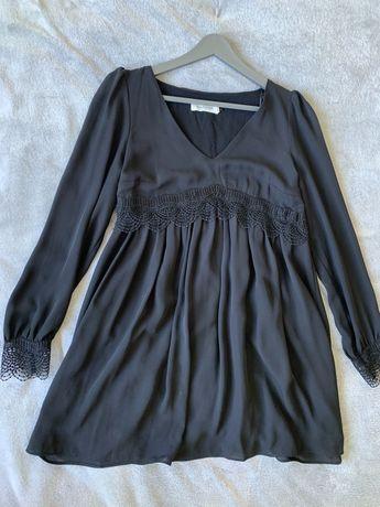 """Платье  чёрное """"Naf-naf"""" 36 размер"""