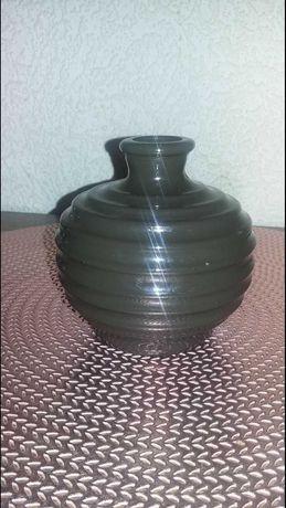 Stary wazon zielone szkło