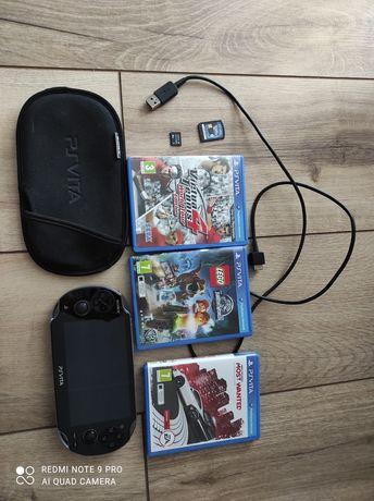 PS Vita wraz z 6 grami