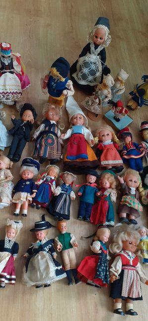 Stare lalki kolekcjonerskie 48szt.