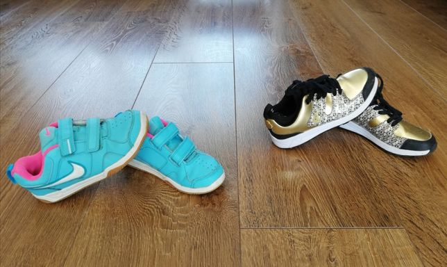 Buty dla dziewczynki nike 2 szt. EUR 32