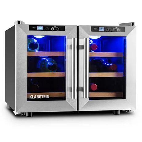 0338 Холодильник для вина Reserva Saloon Серебро , 40 л , 12 , 30 дБ