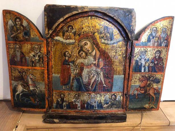 Антиквариат старинная икона