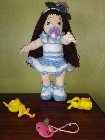 Подарок для самых маленьких - кукла ручной работы Малышка