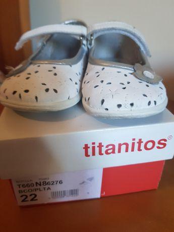 Sapatos menina Titanitos tam 22