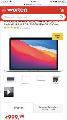 Macbook air com problema na motherboard
