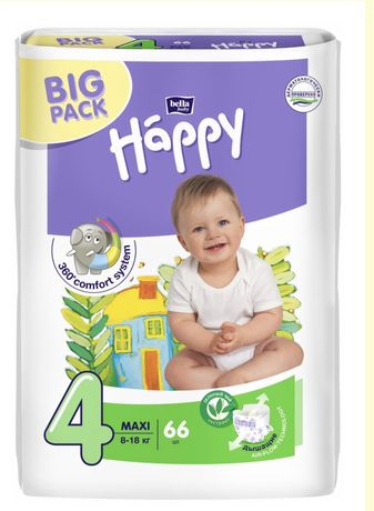 Подгузники bella baby Happy MAXI 4 4+