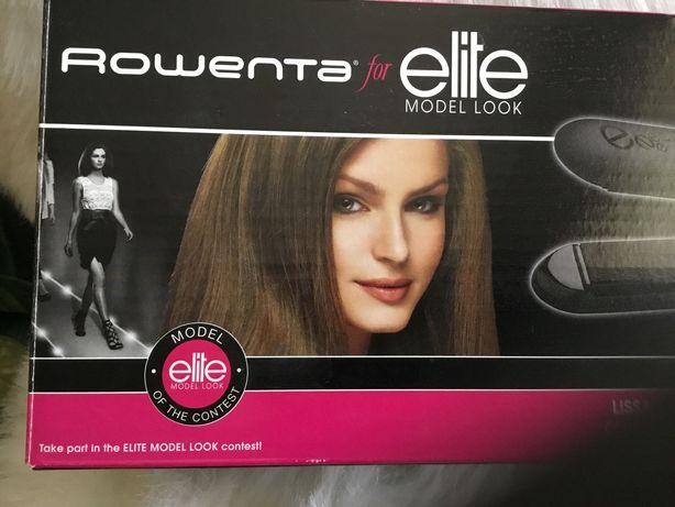 Prancha de alisar cabelo da Rowenta elite model look