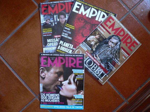 4 revistas de cinema «Premier»