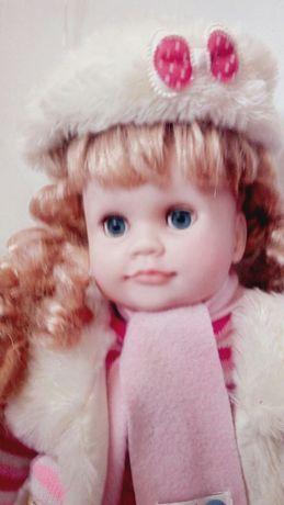 Кукла Ксюша музыкальная интерактивная