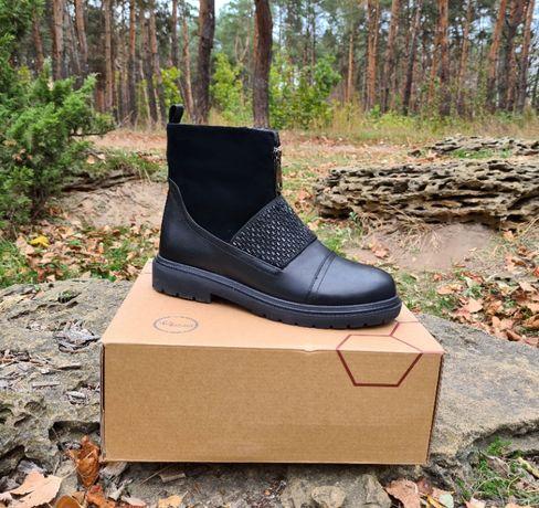 Зимние ботинки Respect оригинал. Натуральная кожа, цигейка. 35-39